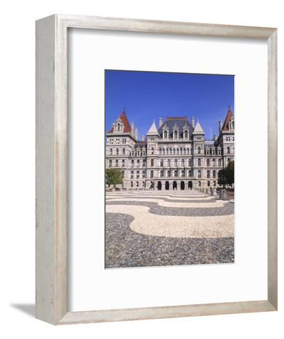 State Capitol Building, Albany, New York-Bill Bachmann-Framed Art Print