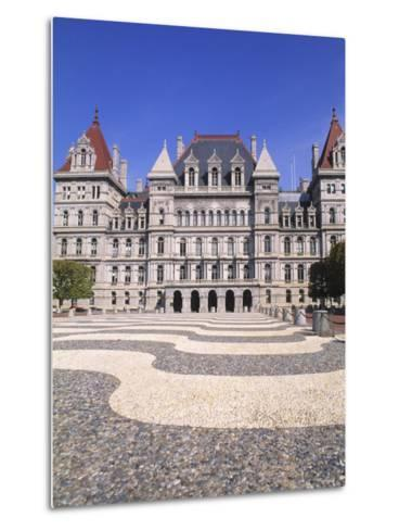 State Capitol Building, Albany, New York-Bill Bachmann-Metal Print