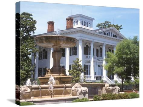Bellamy Mansion of History and Design Arts, Wilmington, North Carolina-Lynn Seldon-Stretched Canvas Print