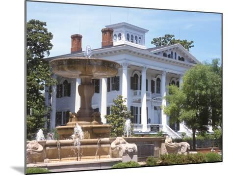 Bellamy Mansion of History and Design Arts, Wilmington, North Carolina-Lynn Seldon-Mounted Photographic Print