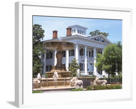 Bellamy Mansion of History and Design Arts, Wilmington, North Carolina-Lynn Seldon-Framed Art Print