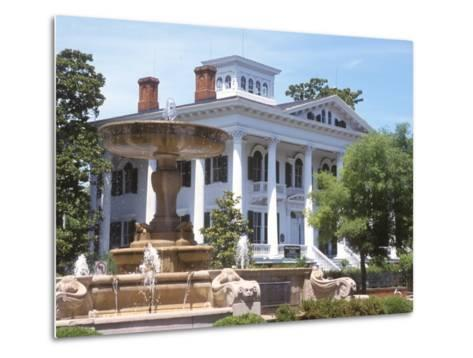 Bellamy Mansion of History and Design Arts, Wilmington, North Carolina-Lynn Seldon-Metal Print
