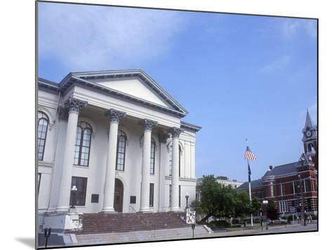 City Hall and Thalian Hall Performing Arts Center, Wilmington, North Carolina-Lynn Seldon-Mounted Photographic Print