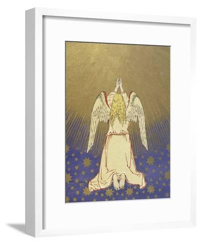 Angel with Arms Raised to Heaven--Framed Art Print