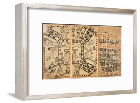 Codex Cortesianus--Framed Art Print
