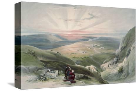 View of Sunset, Cana-David Roberts-Stretched Canvas Print