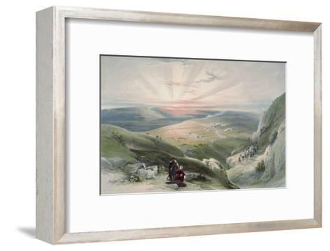 View of Sunset, Cana-David Roberts-Framed Art Print
