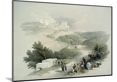 Ruins of the Church of St. John, Sabaste-David Roberts-Mounted Giclee Print