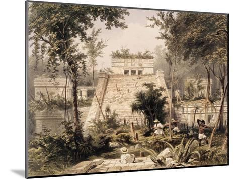 Castle at Tulumc-Frederick Catherwood-Mounted Giclee Print