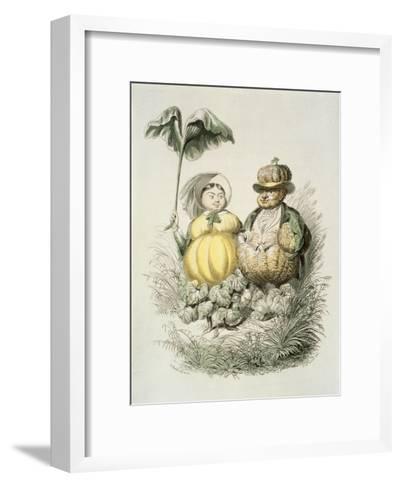 The Bourgeois of Paris-Amedee Varin-Framed Art Print