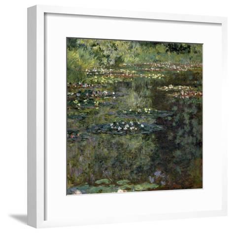 Etang Aux Nympheas, Pond with Water Lillies-Claude Monet-Framed Art Print