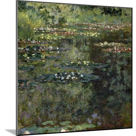 Etang Aux Nympheas, Pond with Water Lillies-Claude Monet-Mounted Giclee Print
