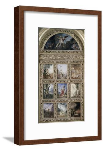L'Humanite-Gustave Moreau-Framed Art Print