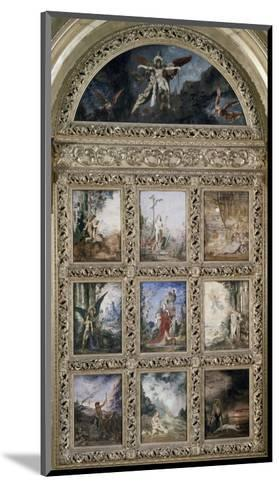 L'Humanite-Gustave Moreau-Mounted Giclee Print