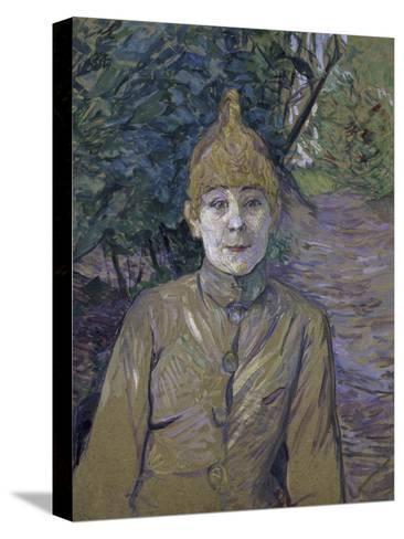The Streetwalker-Henri de Toulouse-Lautrec-Stretched Canvas Print