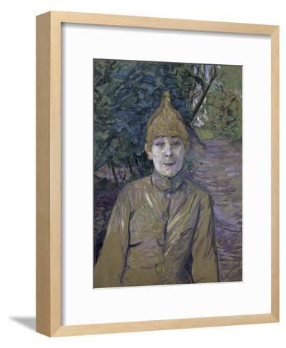 The Streetwalker-Henri de Toulouse-Lautrec-Framed Art Print