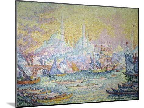 Istanbul, c.1907-Paul Signac-Mounted Giclee Print