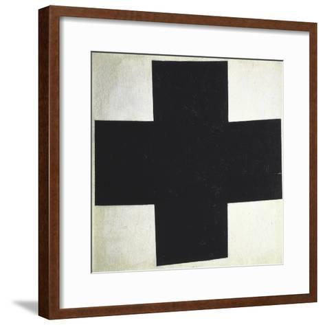 Black Cross-Kasimir Malevich-Framed Art Print
