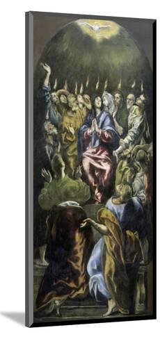 Pentecost, c.1600-El Greco-Mounted Giclee Print
