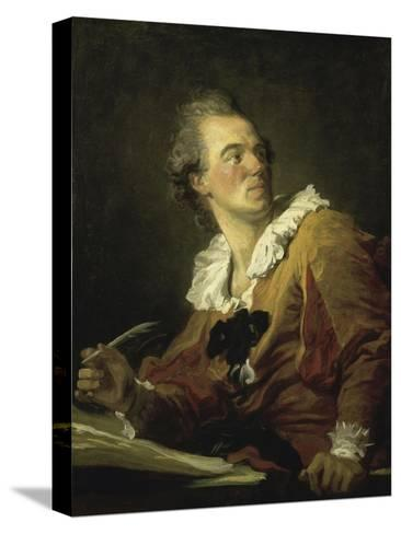 The Inspiration-Jean-Honor? Fragonard-Stretched Canvas Print