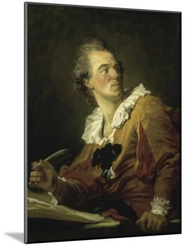 The Inspiration-Jean-Honor? Fragonard-Mounted Giclee Print