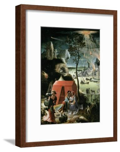 Lot and His Daughters, 17th century-Lucas Van Leyden-Framed Art Print