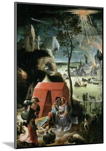 Lot and His Daughters, 17th century-Lucas Van Leyden-Mounted Giclee Print
