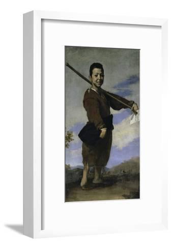 The Club Footed Boy, 17th century-Jusepe de Ribera-Framed Art Print