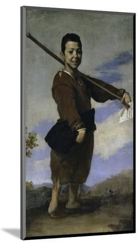 The Club Footed Boy, 17th century-Jusepe de Ribera-Mounted Giclee Print