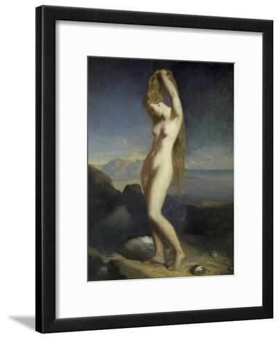 Venus Marine-Theodore Chasseriau-Framed Art Print