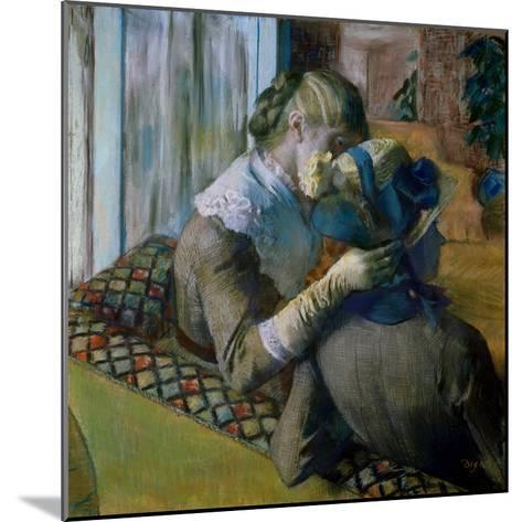 At the Milliner's-Edgar Degas-Mounted Giclee Print