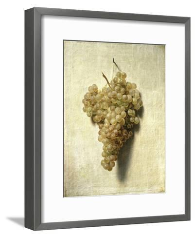 Raisons Blancswhite Grapes-Louis Leopold Boilly-Framed Art Print