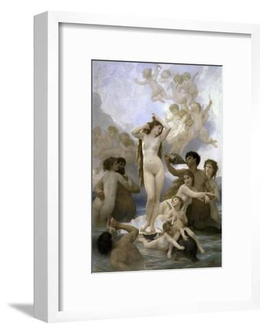 Naissance de Venus-William Adolphe Bouguereau-Framed Art Print