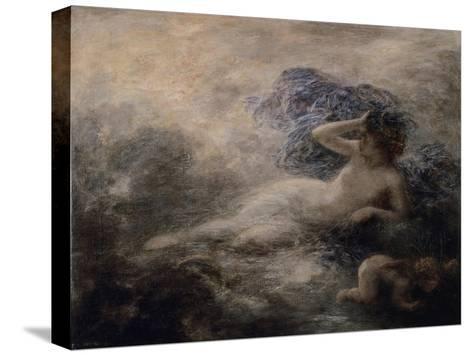 La Nuit-Henri Fantin-Latour-Stretched Canvas Print
