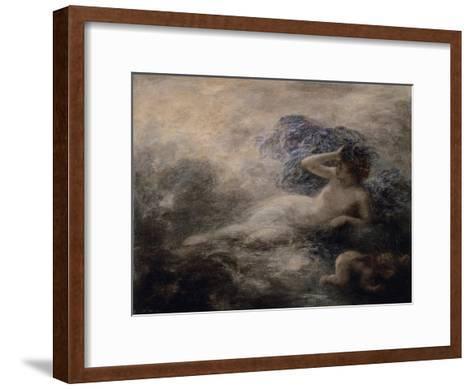 La Nuit-Henri Fantin-Latour-Framed Art Print
