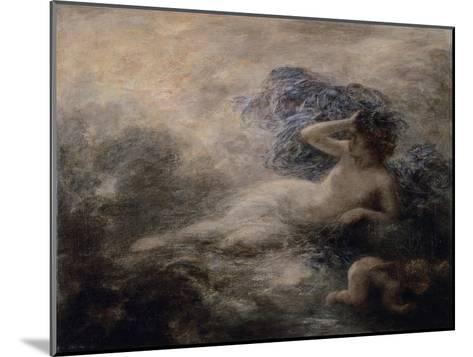 La Nuit-Henri Fantin-Latour-Mounted Giclee Print