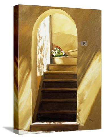 Arched Doorway-Helen J^ Vaughn-Stretched Canvas Print