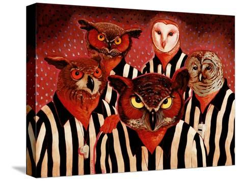 The Officials-John Newcomb-Stretched Canvas Print