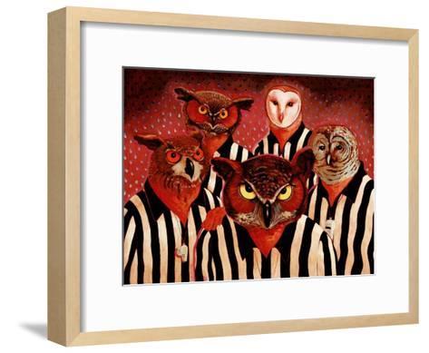 The Officials-John Newcomb-Framed Art Print