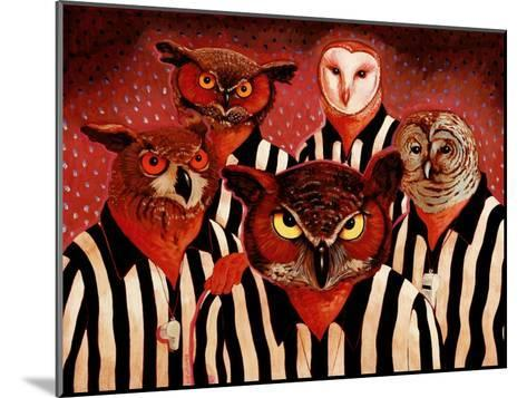 The Officials-John Newcomb-Mounted Giclee Print