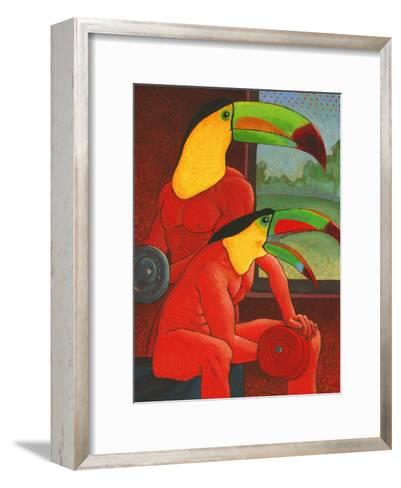 The Workout-John Newcomb-Framed Art Print