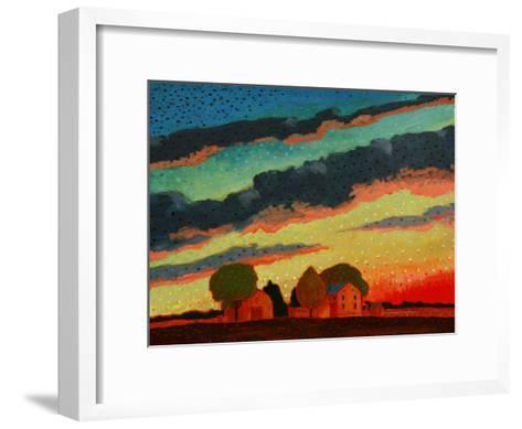 Pennsylvania Sunset-John Newcomb-Framed Art Print