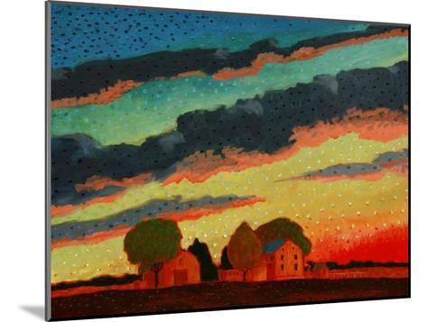 Pennsylvania Sunset-John Newcomb-Mounted Giclee Print
