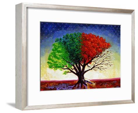 Tree For All Seasons-John Newcomb-Framed Art Print