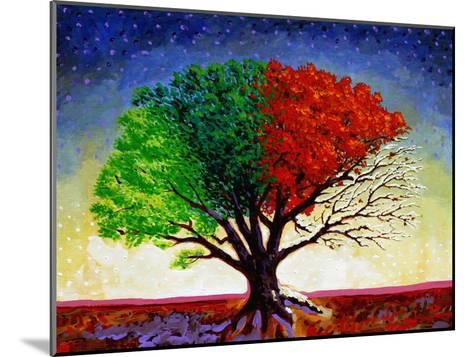 Tree For All Seasons-John Newcomb-Mounted Giclee Print
