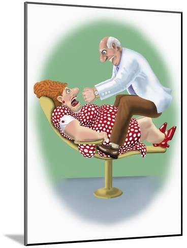 The Dentist-Linda Braucht-Mounted Giclee Print