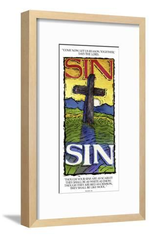 Sins White as Snow-Linda Braucht-Framed Art Print