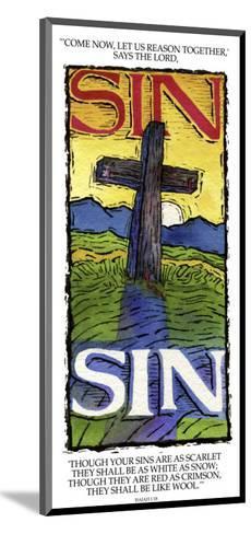 Sins White as Snow-Linda Braucht-Mounted Giclee Print