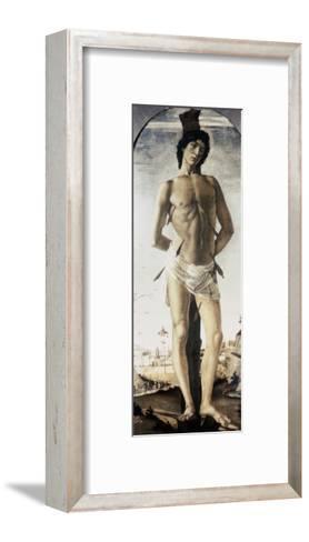 Saint Sebastian-Sandro Botticelli-Framed Art Print