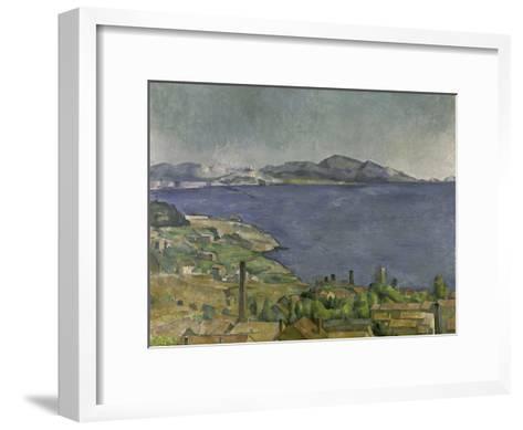The Gulf of Marseilles-Paul C?zanne-Framed Art Print